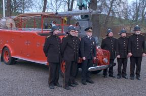 gammel brandbil