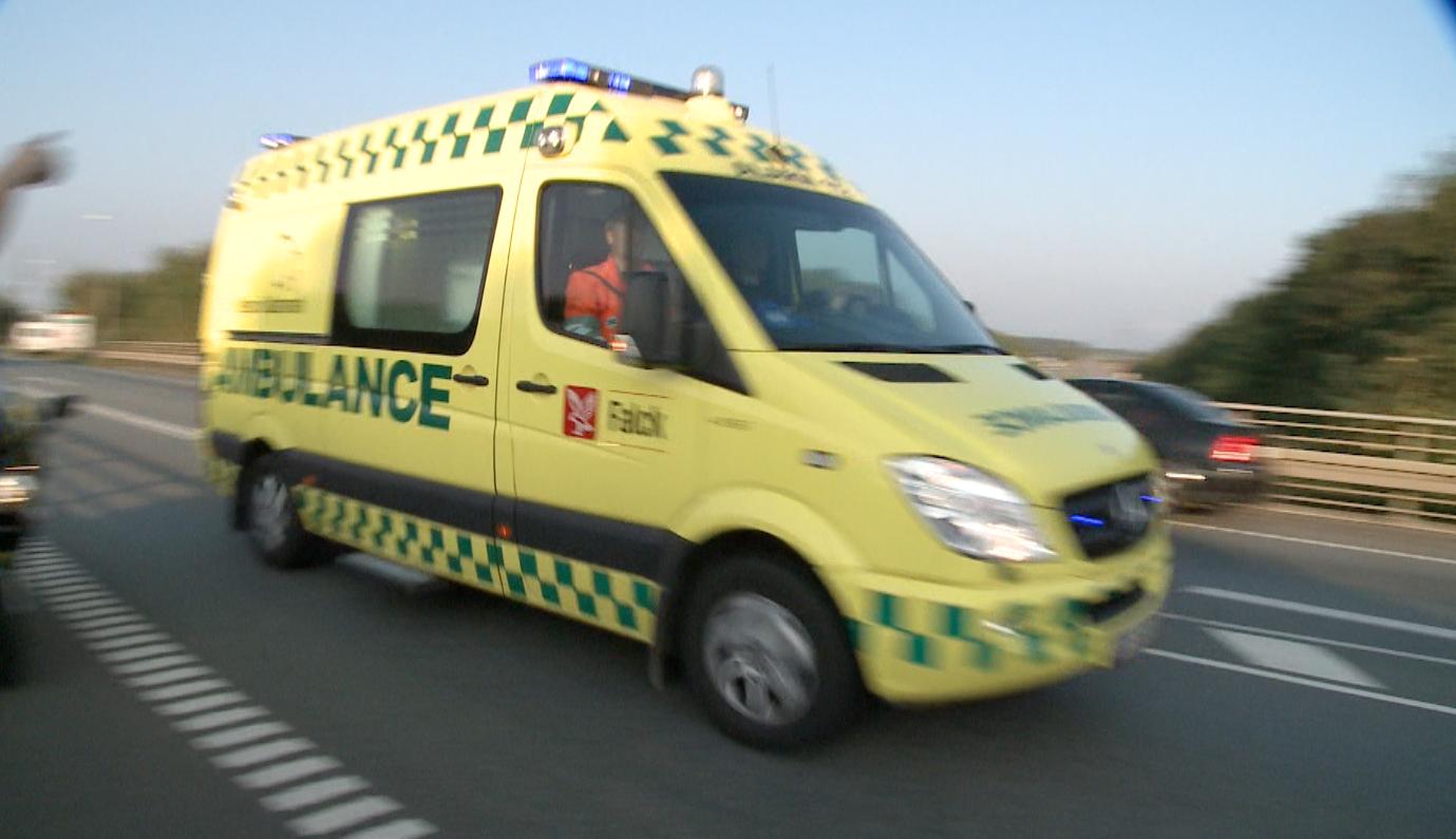 Ambulance ulykke