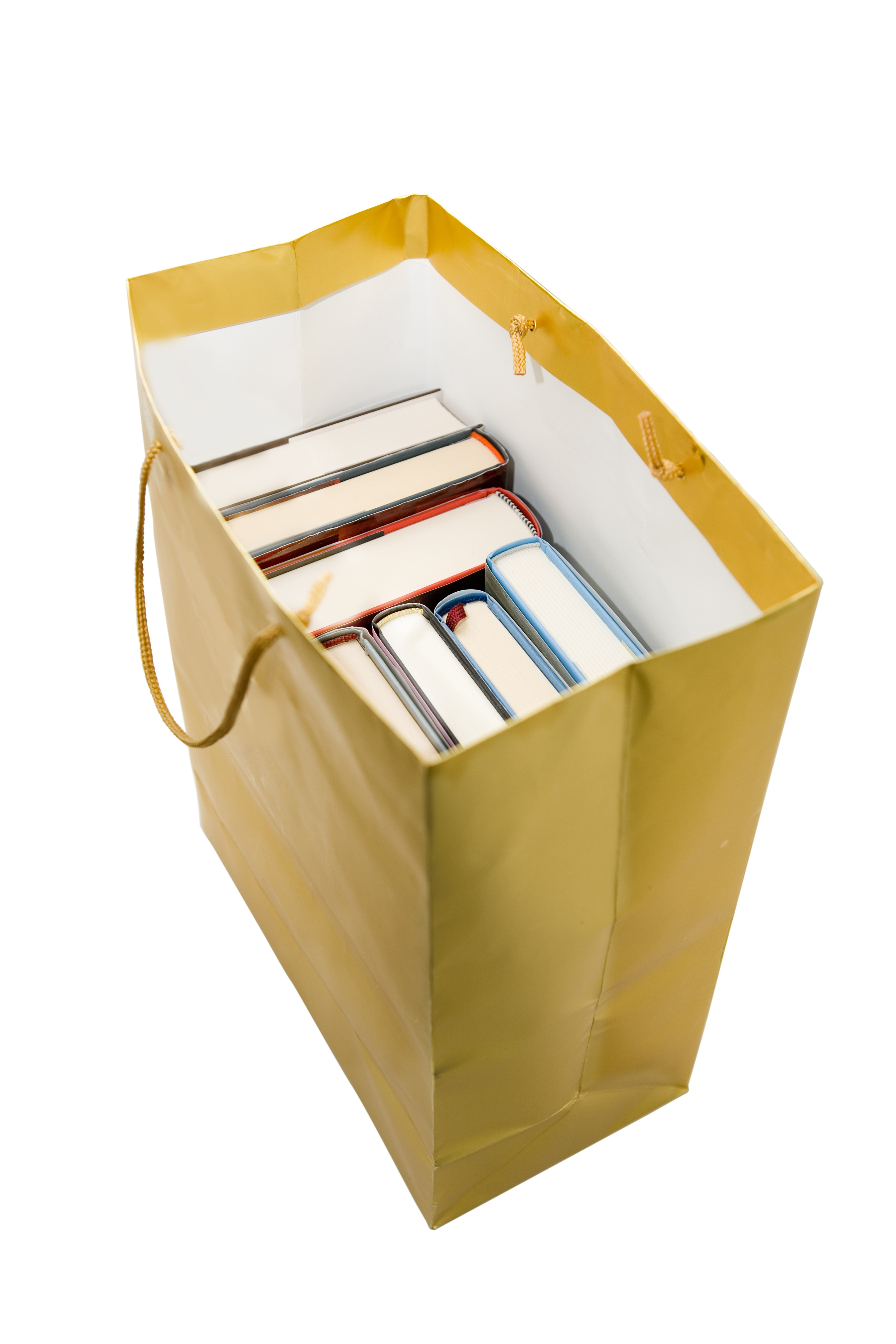 Books in Paper Bag
