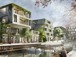FredericiaC – Kanal langs Oldenborggade