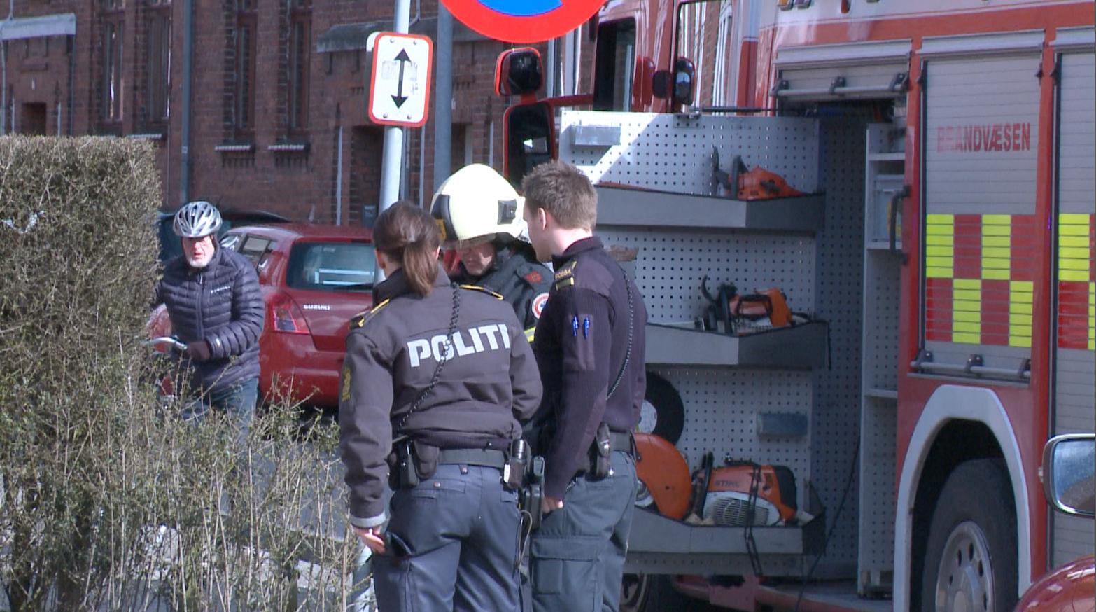 Større politiøvelse i Fredericia onsdag