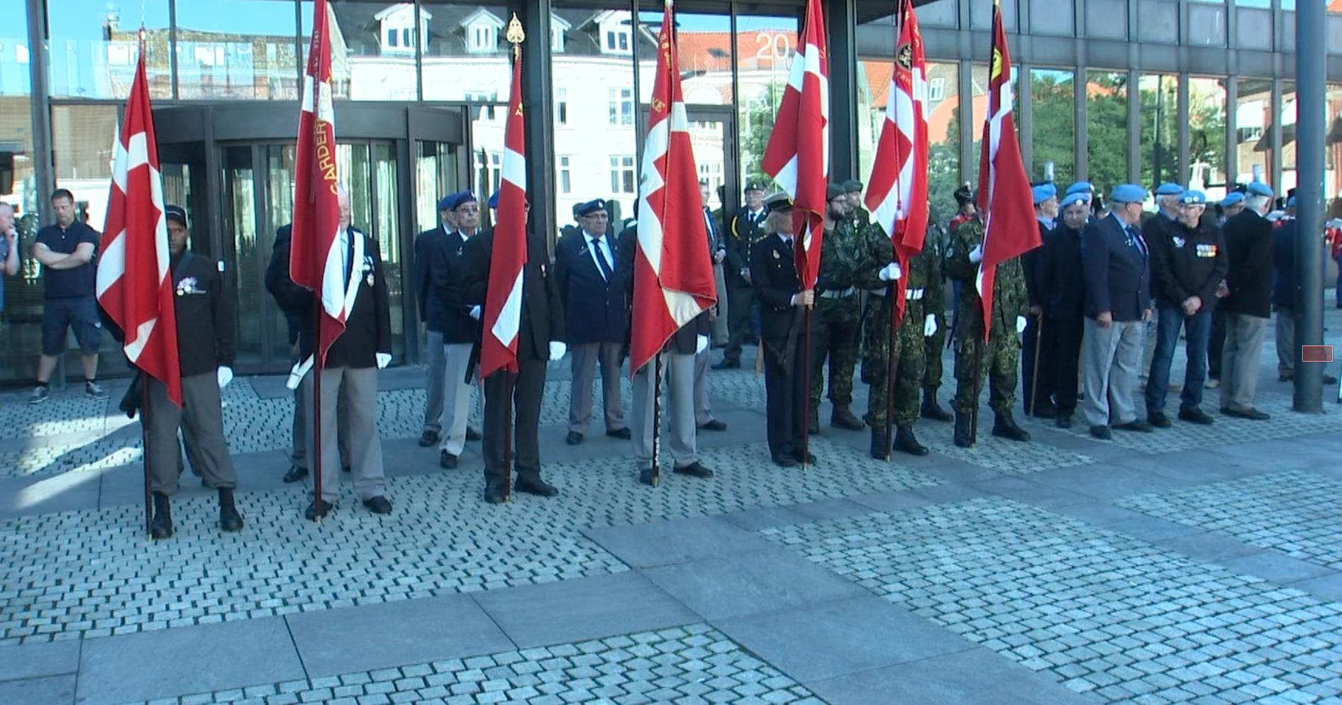 Fredericia holder en anderledes flagdag