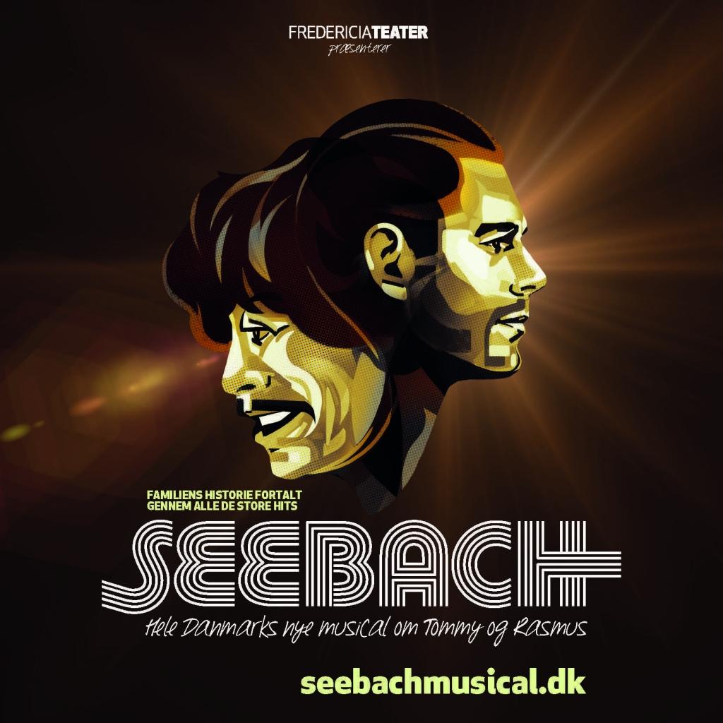 Fredericia Teater står bag nyskrevet musical om Tommy og Rasmus Seebach