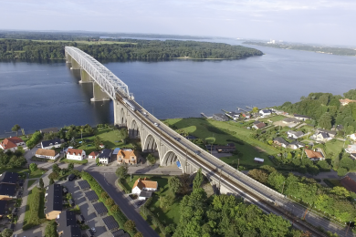 Gl Lillebaeltsbro bro