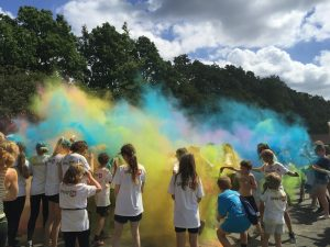 Fredericia fun run Color run