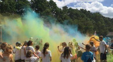 Fredericia fun run Color run