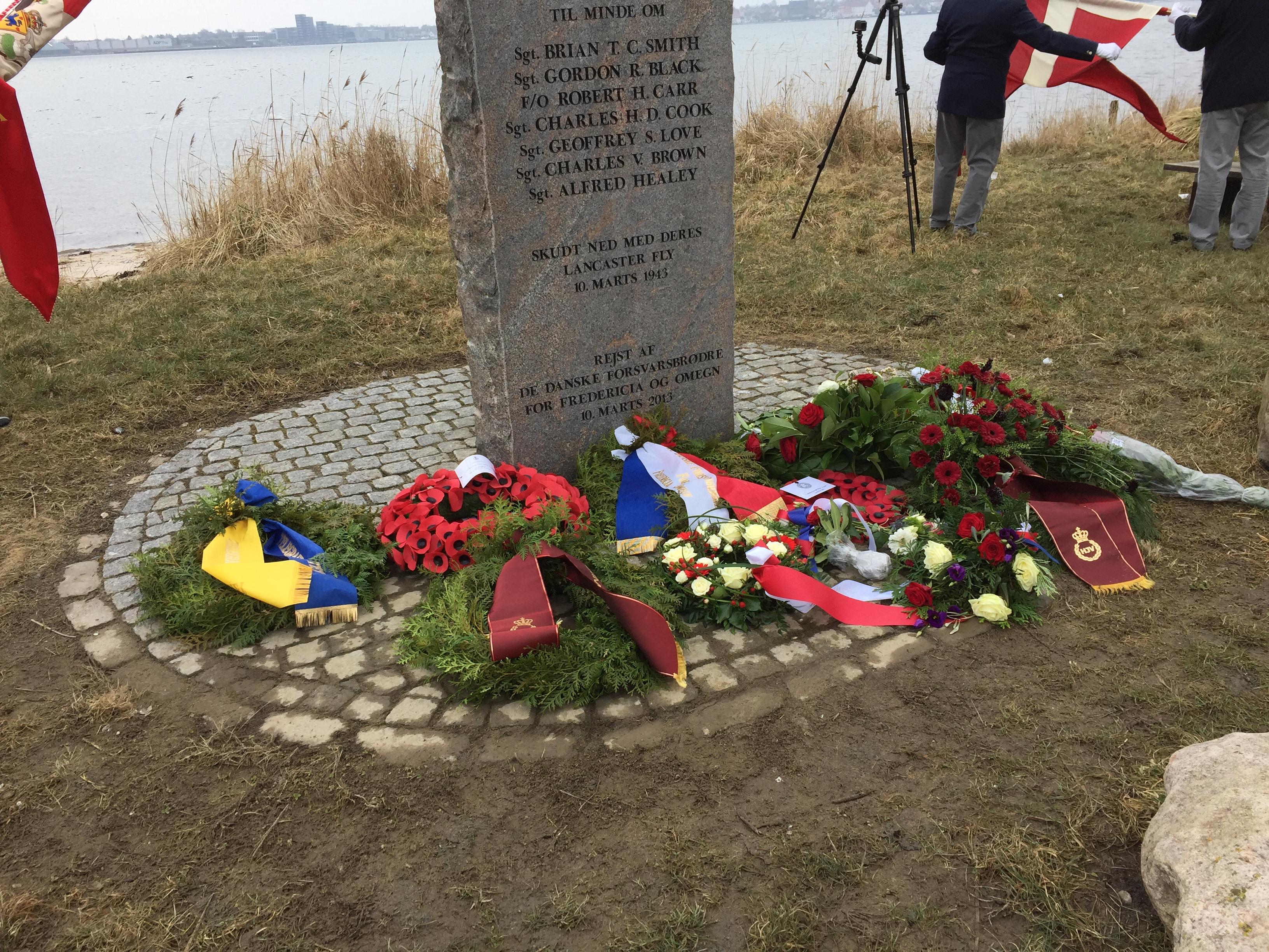 75-ÅRS DAGEN FOR NEDSKYDNINGEN AF LANCASTER ED305 I LILLEBÆLT