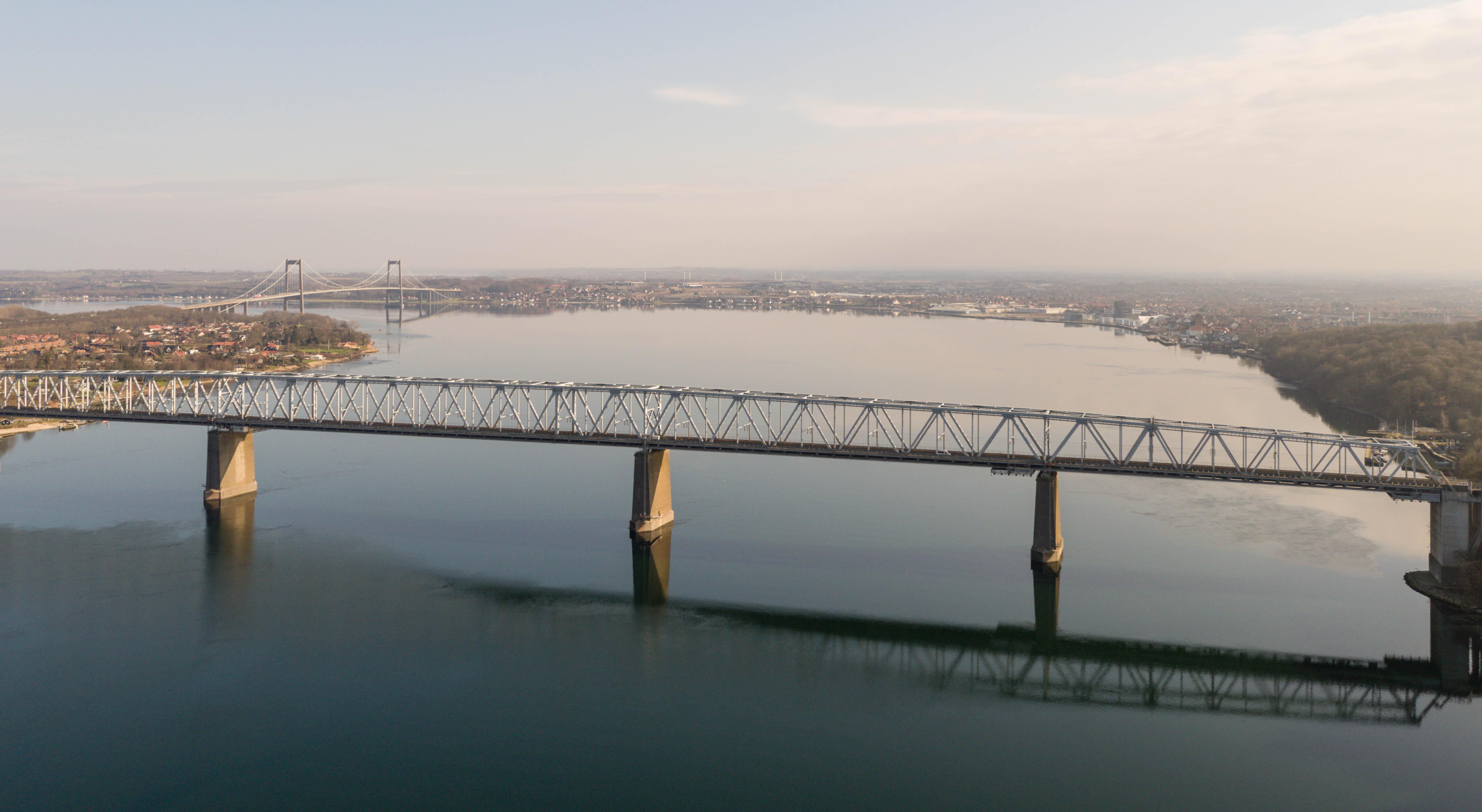 Gl. Lillebæltsbro bliver spærret lige efter pinse