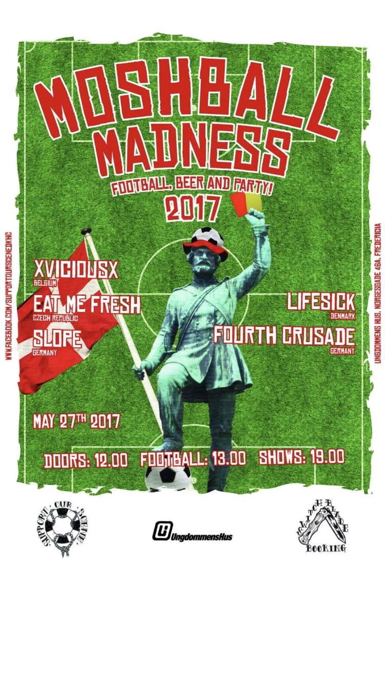 Masser af fodbold på Ungdommens Hus