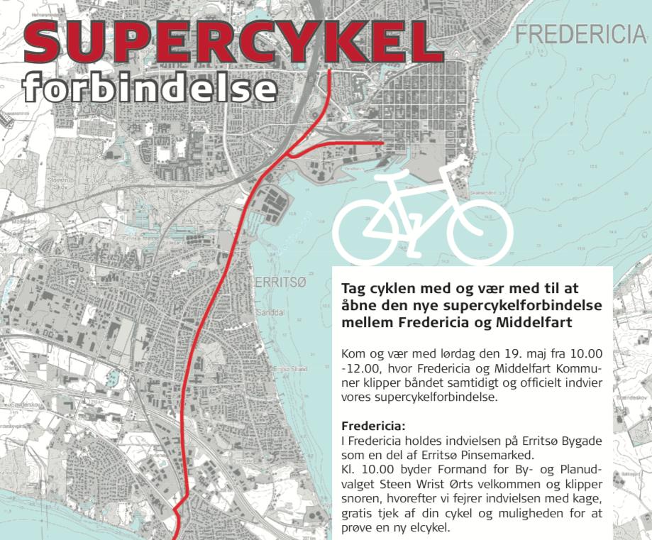 SÅ SKER DET – DEN NYE SUPERCYKELSTI INDVIES