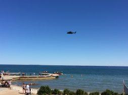 Østerstrand 112 helikopter redning