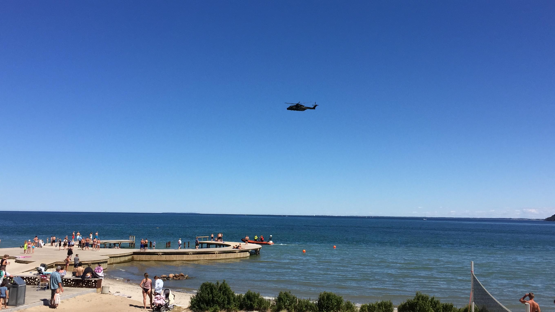 Skal samarbejdet mellem Forsvarets redningshelikoptere og regionernes akutlægehelikoptere styrkes