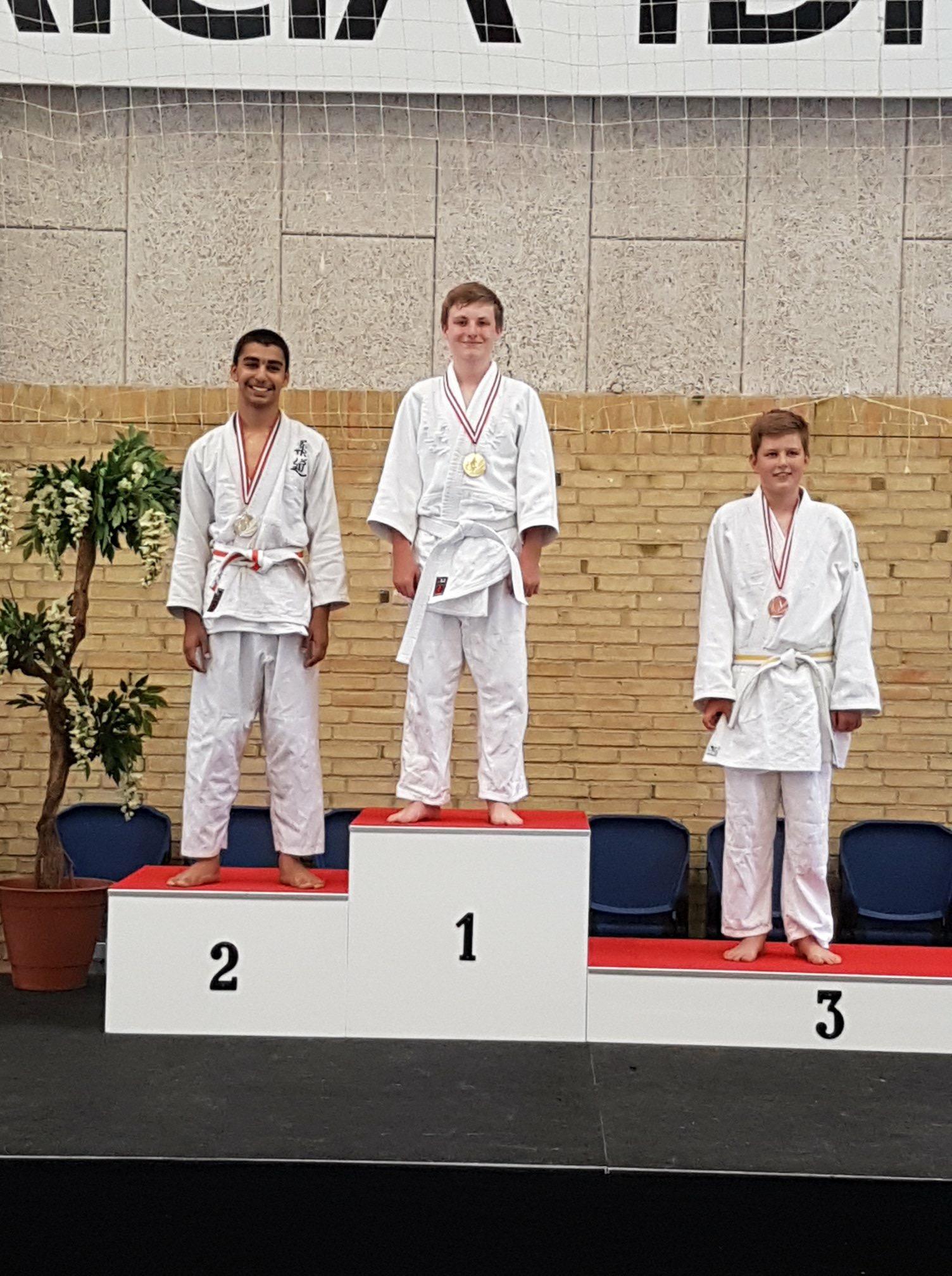 Jysk-Fynsk Mesterskab 2018 i Judo