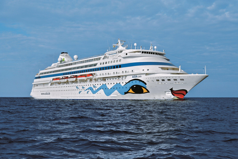 Krydstogtskib fra AIDA Cruises anløber Fredericia lørdag den 16. juni