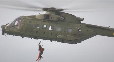 Helikopter redning