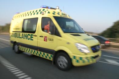ambulance 112 motorvej ulykke