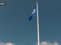 blaa flag bade