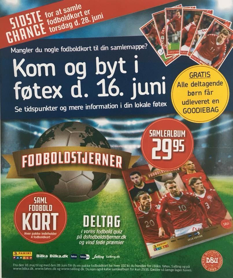 Så Skal Der Byttes Fodboldkort Føtex Inviterer Til Stor Byttedag