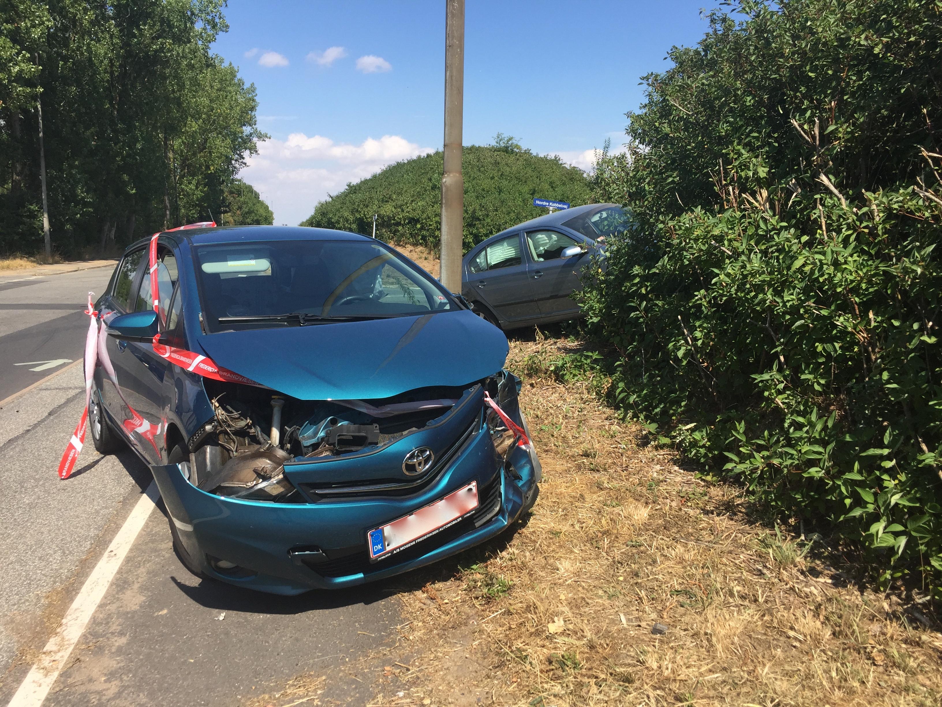 Lidt færre tilskadekomne i trafikken i april end normalt
