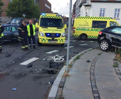 færdselsuheld ulykke