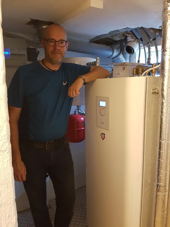 Boligejere går sammen og køber varmepumper
