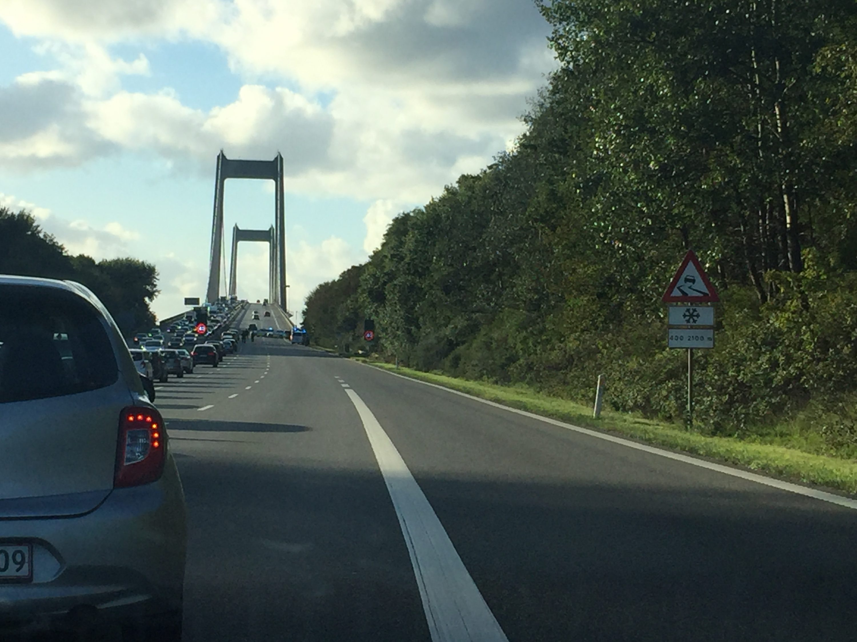 Ny Lillebæltsbro: Tre spor tilgængelige på to store sommerferierejsedage