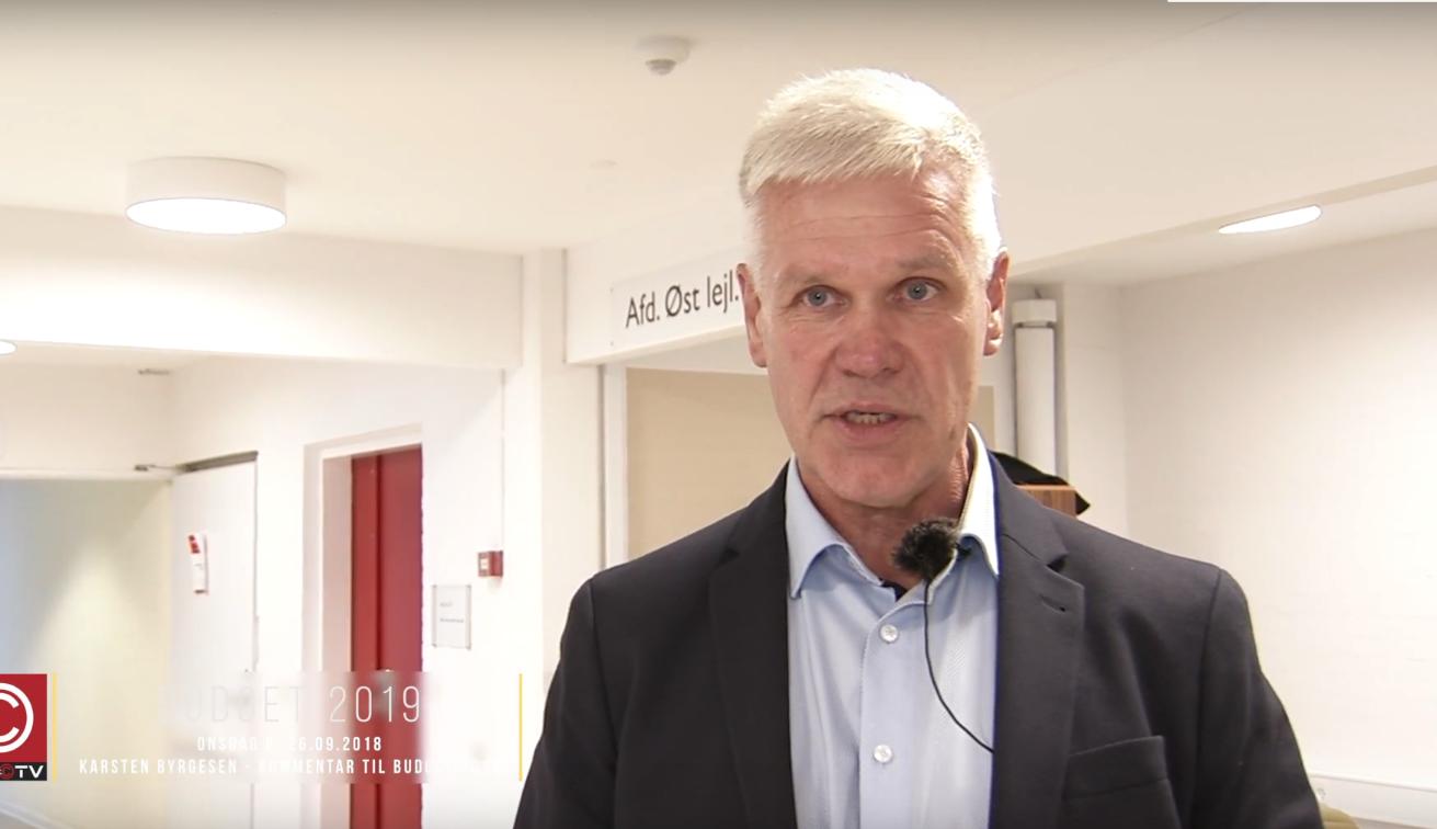 SE VIDEO : DET SIGER KARSTEN BYRGESEN OM BUDGET 2019
