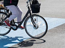 Cyklister, Fredericia Kommune.