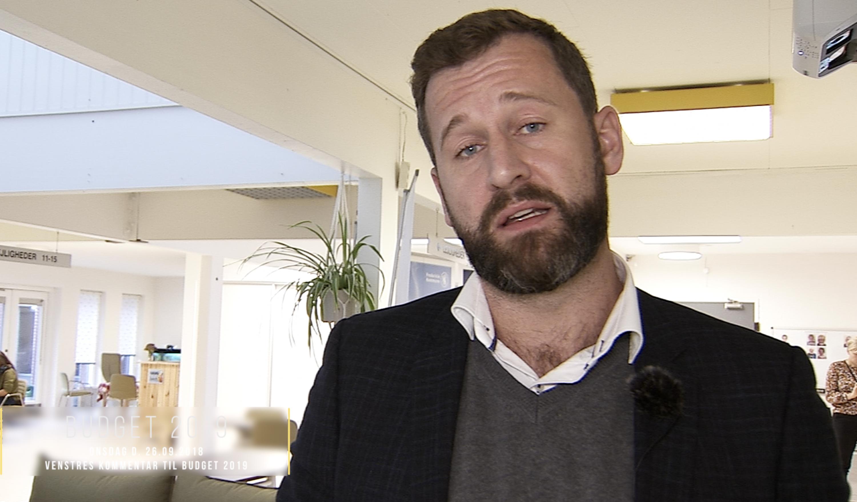 SE VIDEO : DET SIGER VENSTRE OM BUDGET 2019