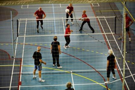 Blød Volleyball starter hos Idræt i dagtimerne