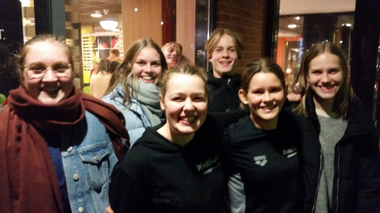 DeltaSwim – Fredericia Svømmeklub deltog med otte svømmere fra A-holdet i Vestkyst Cup i Esbjerg i dagene 09. – 11. november 2018.