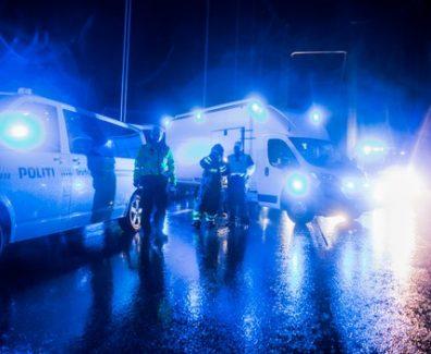 politi ulykke