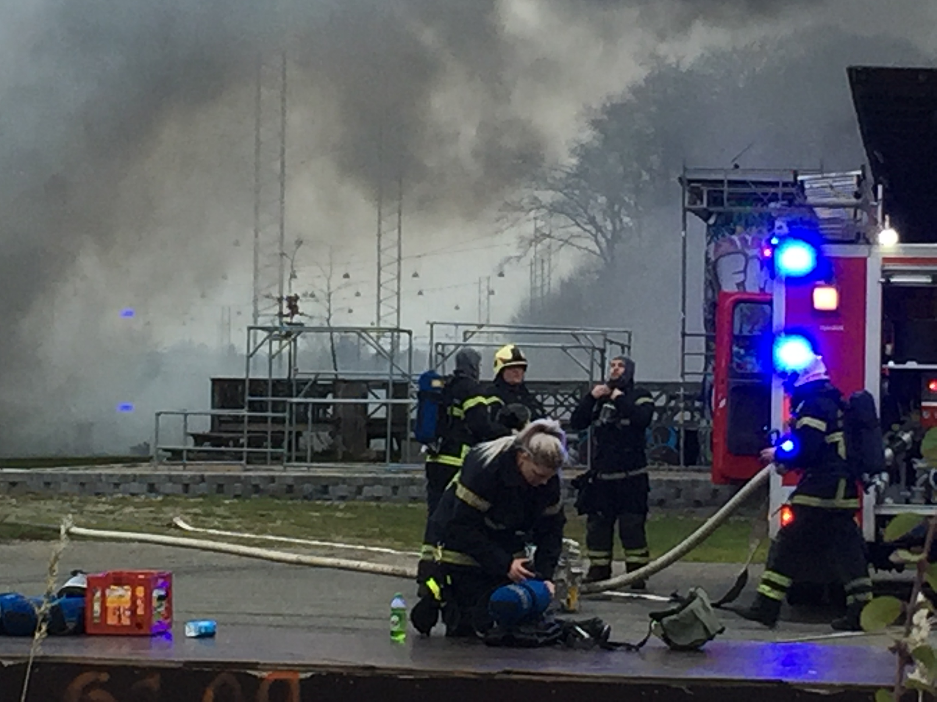 GIFTIG RØG SÆTTER VARSLINGSSIRENER I GANG I FREDERICIA CENTRUM