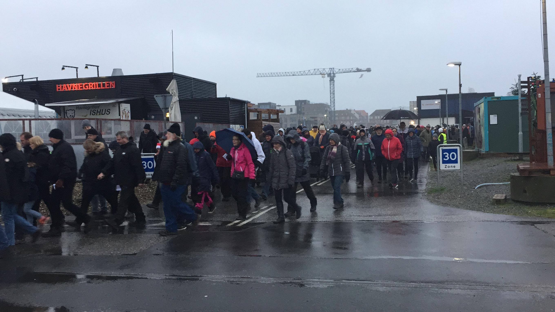 SE VIDEO : JULEMÆRKEMARCH NR. 42. TRAK OVER 500 DELTAGERE