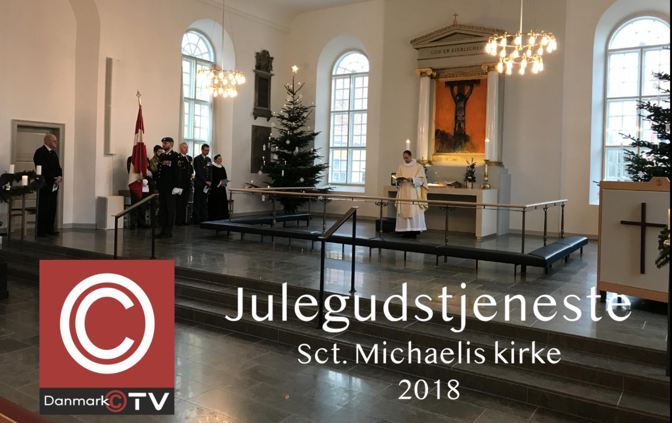 JULEGUDSTJENESTE FRA SCT. MICHAELIS KIRKE