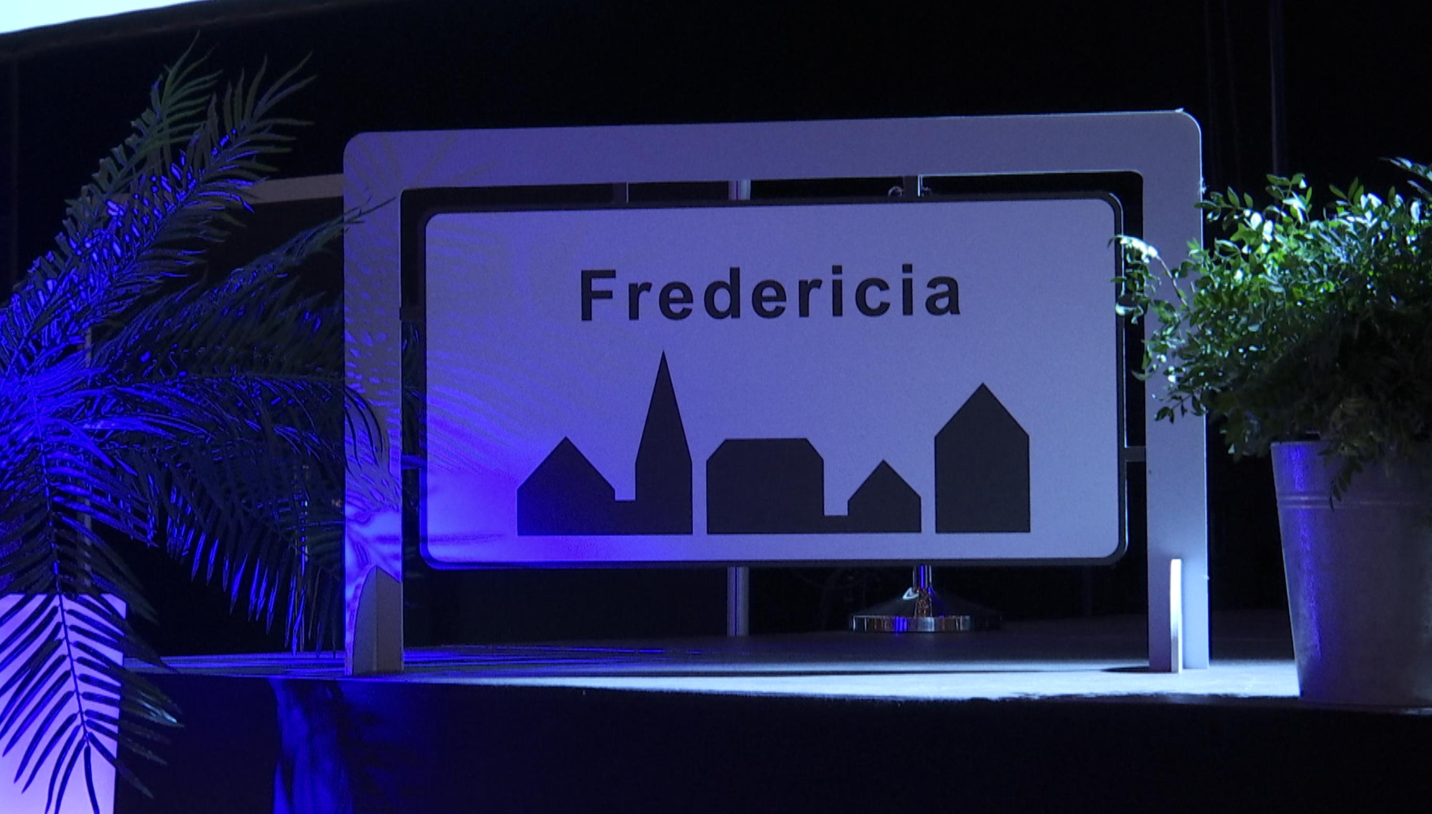 Første grundlovsceremoni i Fredericia