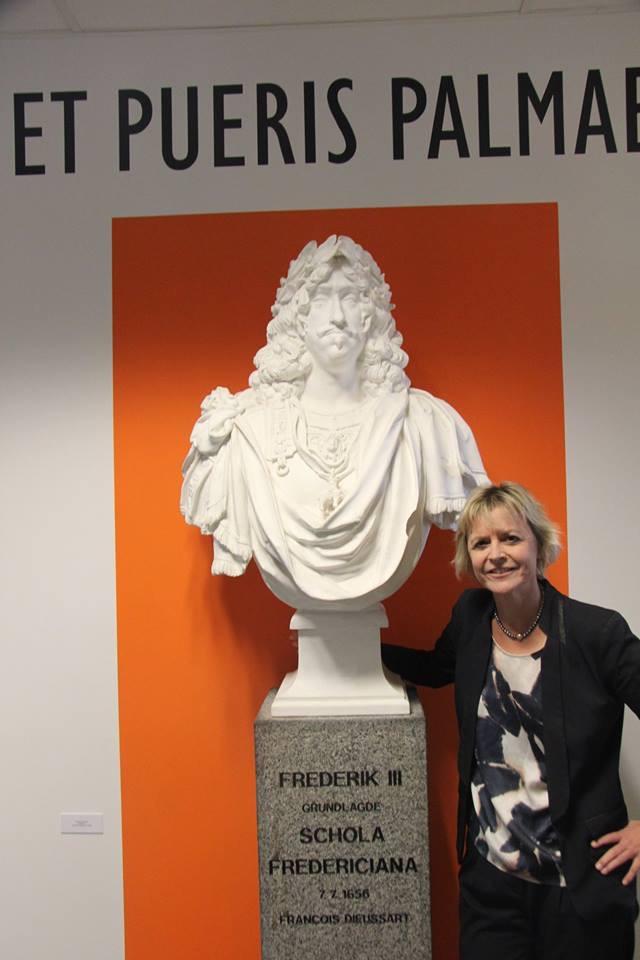 Lykke Friis besøgte Fredericia gymnasium