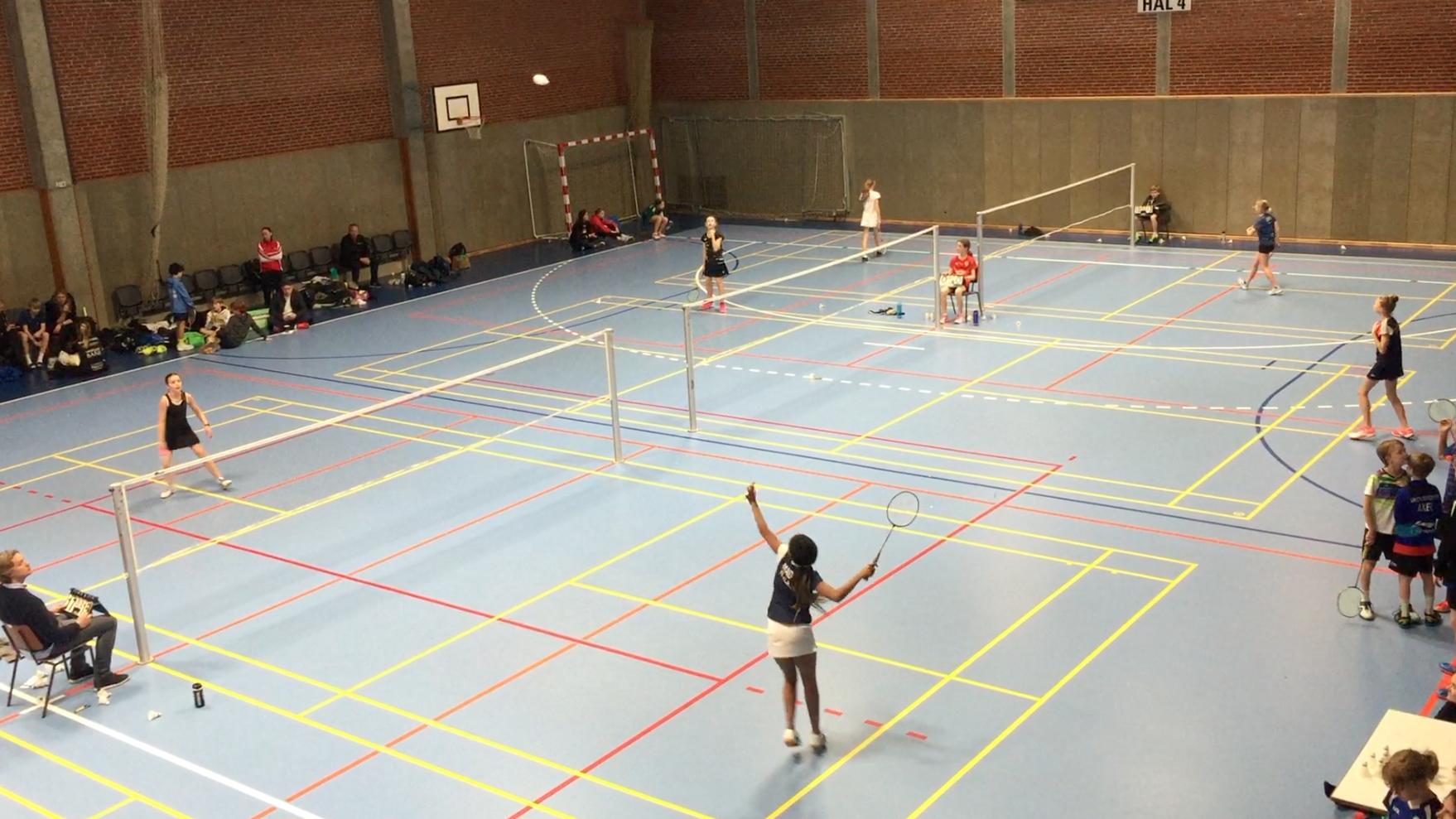 Badminton landsmesterskab for U13 i Fredericia
