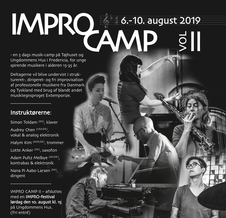 Fem dages IMPRO CAMP for unge musikere i alderen 15 – 35 år