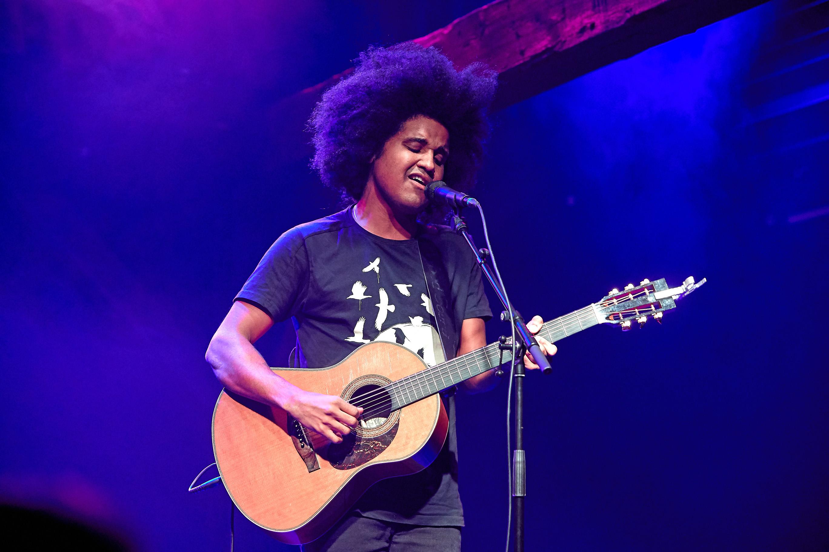 Thomas Buttenschøn spillede solo på Fredericias Livescene