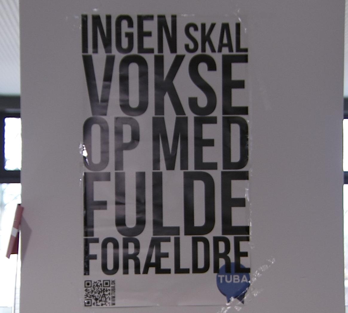 SE VIDEO : TUBA HJÆLPER UNGE DER ER VOKSET OP MED FORÆLDRE I MISBRUG