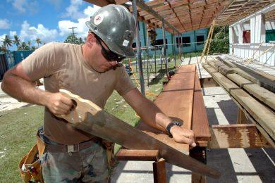 håndværker tømrer