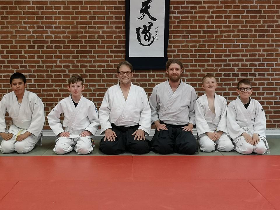 Første aikido-børn gradueret i Fredericia