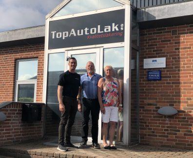 TopAutoLak i Vamdrup er solgt til Byens Bilpleje