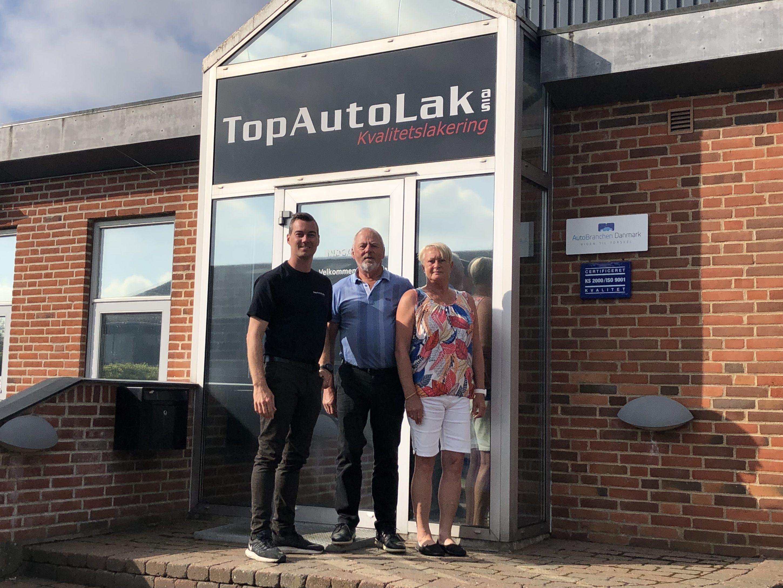 Byens Bilpleje – med hovedkontor i Fredericia – har netop indgået en købsaftale med TopAutoLak i Vamdrup