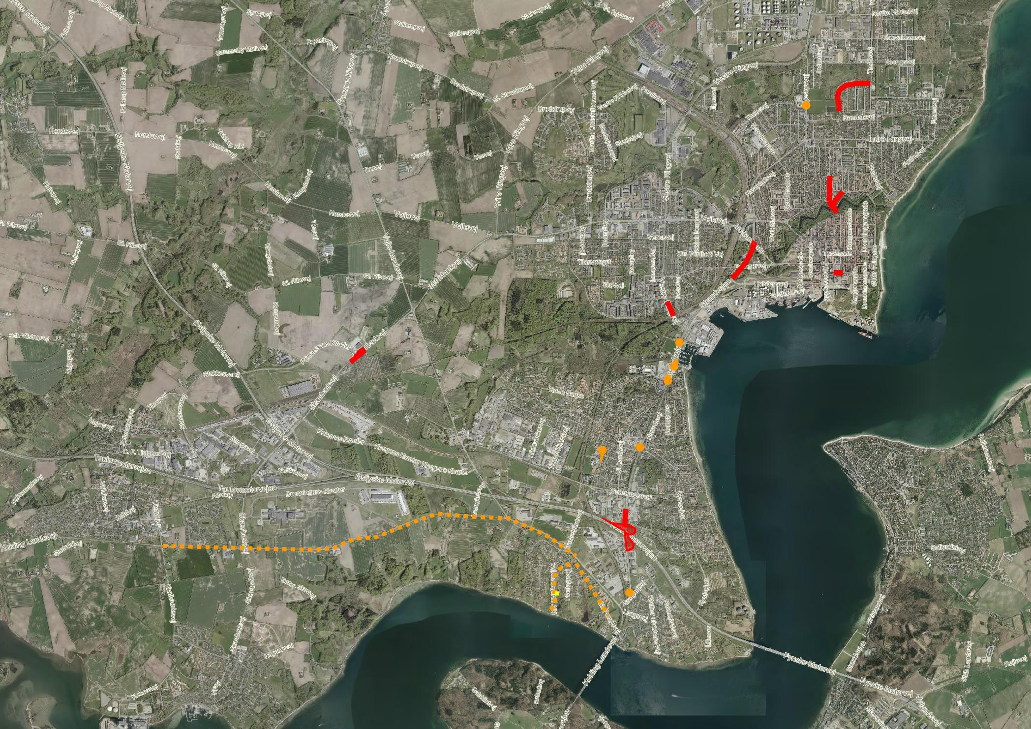 Kommunen giver dig overblikket: Her er de centrale vejarbejder i Fredericia