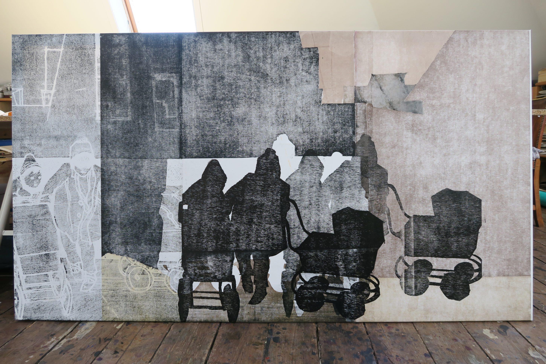 Billedkunstner Tine Hind udstiller i Fredericia – fernisering 27.09.2019