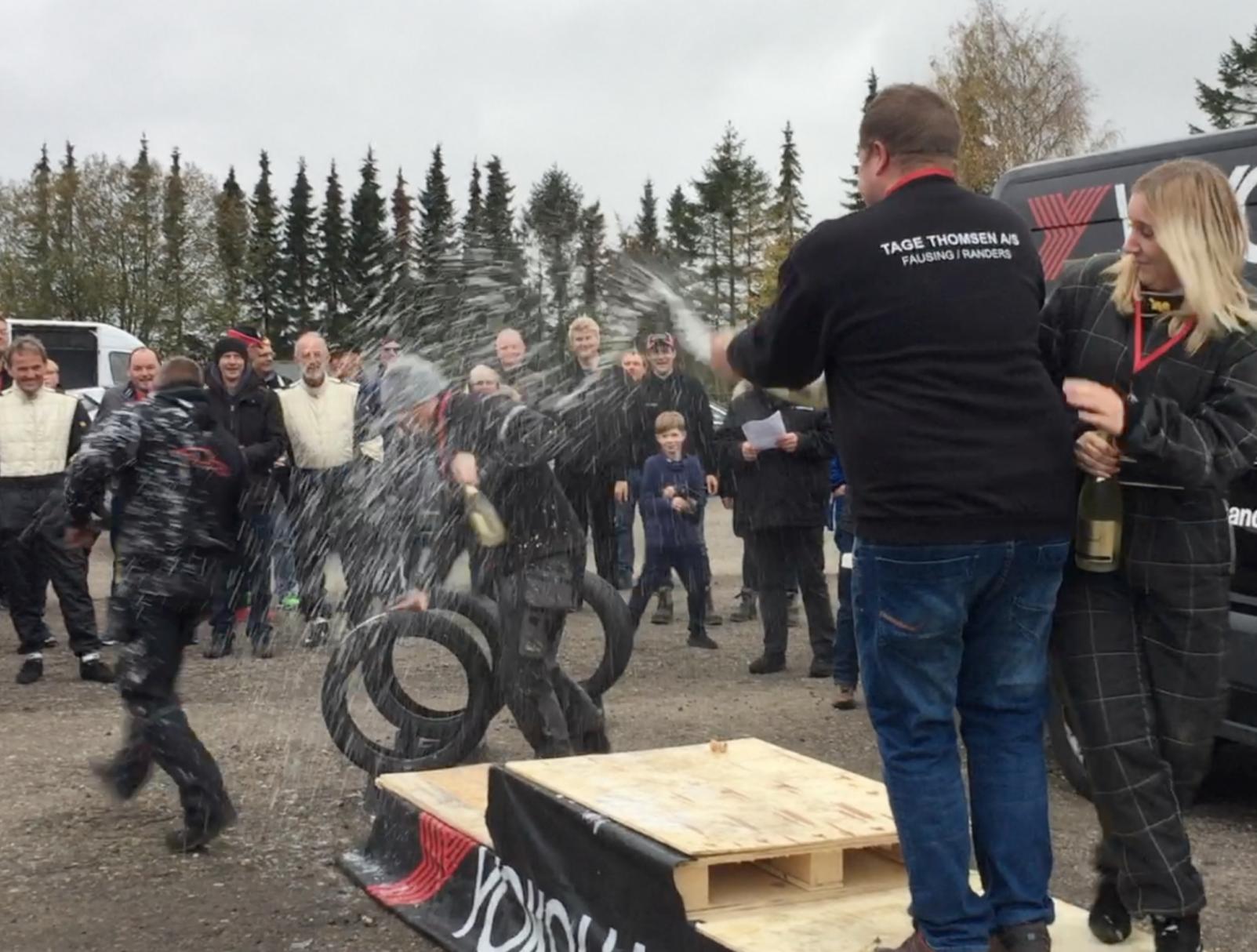 SE VIDEO: RALLYSPRINT BLEV KØRT I ERRITSØ