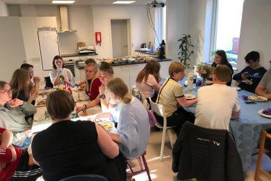Tacobar. Danmark Spiser Sammen. April 2019