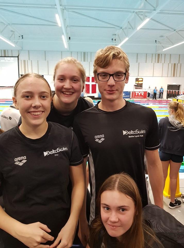 Mesterskab: DeltaSwim nåede finalepladser